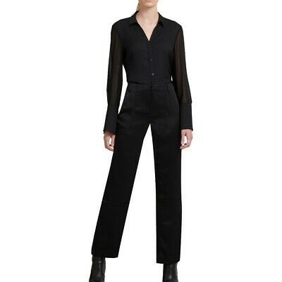 DKNY NEW Women's Double Satin Straight-leg Dress Pants TEDO