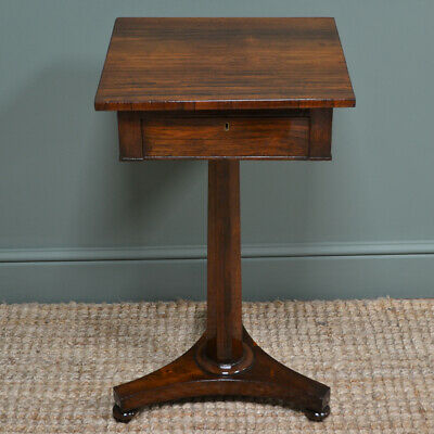 Stunning Small William IV Antique Side Table