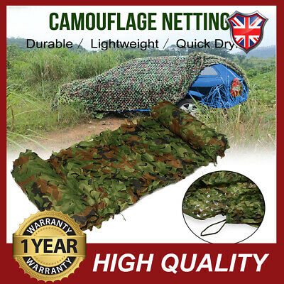4mX6m Military Army Camouflage Net Camo Paintball Shooting Hunting Hide Woodland