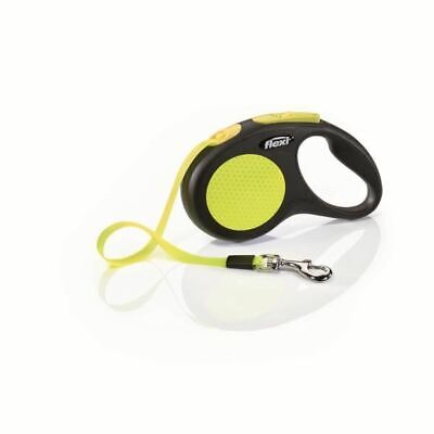 Flexi Neon Tape in Black - Retractable and Expandable - Reflective - 5m - Small