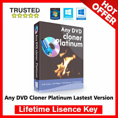 Any DVD Cloner Platinum 1.3.7 Latest 🔐 Lifetime Activation Key ✅ Fast Delivery
