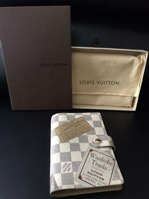 Louis Vuitton Agenda Pm Damier Notebook Cover Lv