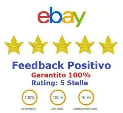 Feedback Positivo Garantito 100%  IMMEDIATO o accetto proposte 0,50€