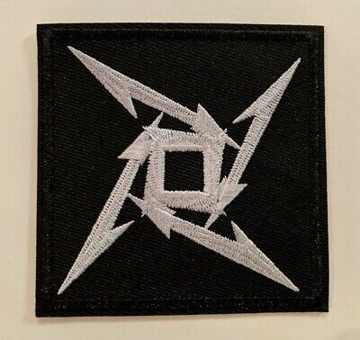 Metallica Embroidered Iron-on Thrash Metal Band Patch