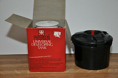 Lot of (2) Film Developing Tanks, ANSCO and PATERSON