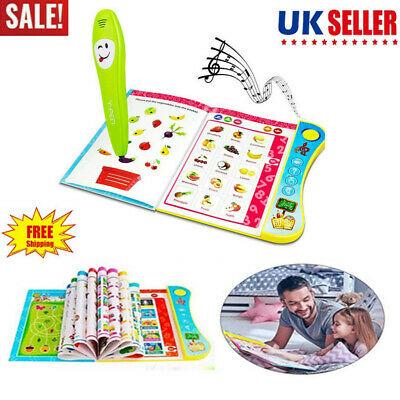 Learning Toys For 3+ Year Old Kids Children Interactive Book Toddler Educational