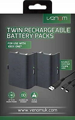 Venom Twin Rechargeable Battery Pack (Xbox One)