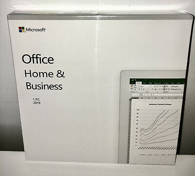 Microsoft Office Home and Business 2019 / PC / DVD / Genuine / New but unsealed