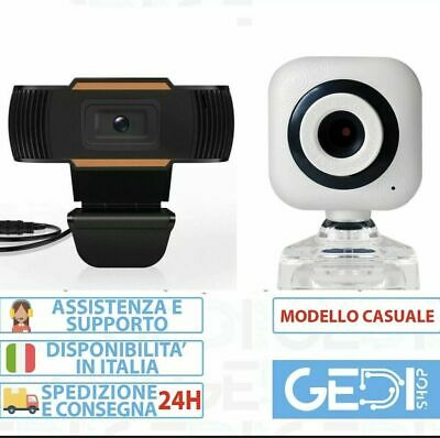 Webcam GEDI C270 HD 720p Con Microfono Integrato Smart working