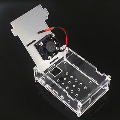 Acrylic Shell Protective Case Box Transparent Box For Raspberry Pi 4B DIY Part