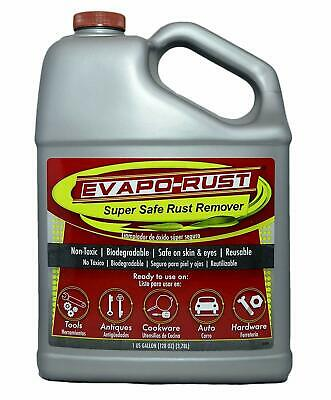 1 Gallon Evapo-Rust Water Based Tools Parts Antiques Rust Remover Cleaner