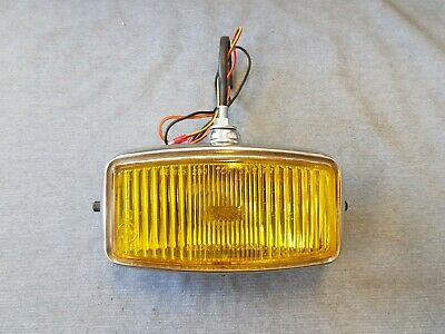 Refurbished Triumph Ford Vauxhall Yellow Lens Wipac Fog Lamp