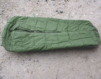 ORIGINAL ARMEE WINTERCHLAFSACK OLIV OUTDOOR CAMPING ANGELN NATO LACKEN MILITARY