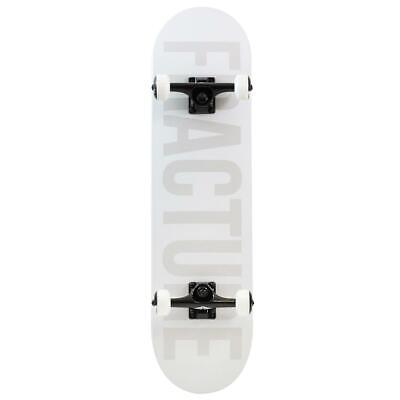 """Fracture Sale Seconds Fade Factory Complete Skateboard White 8"""""""