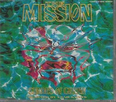 THE MISSION - Shades of green - CD single + sticker
