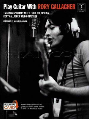 Rory Gallagher Guitar TAB Lesson CD 231 TABS 23 Backing Tracks BONUS Jeff Healey
