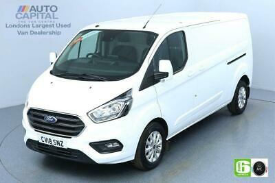 2018 Ford Transit Custom 2.0 300 LIMITED L2 H1 130 BHP AUTO EURO 6 ENGINE PANEL