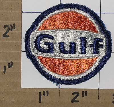 GULF Logo Cap Gas Oil Fuel Mechanic Man Cave Hat Garage Racing Embroidered Patch