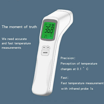 Digital Adult Baby Forehead/Ear Non Contact Infrared Thermometer Handheld