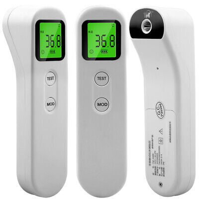 No-contact Touch IR Infrared Digital LCD Forehead Thermometer Kids Baby Adult US