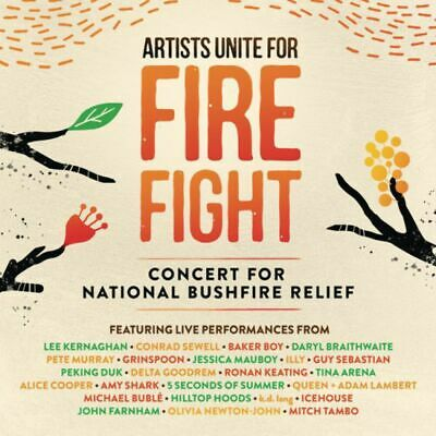 Various Artists - Artists Unite For Fire Fight - Concert For National Bushfire R