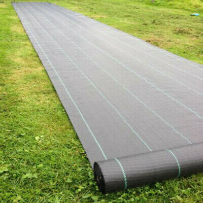 100gsm Weed Control Fabric Ground Cover Membrane Landscape Sheet Mat Heavy Duty
