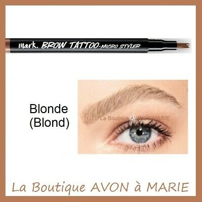 BLONDE BROW TATTOO Stylo Tatouage Sourcils AVON : SEMI PERMANENT