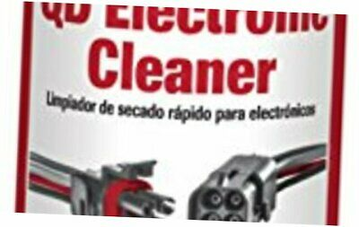 Electronic Contact Cleaner Spray Sensitive Device Quick Drying Plastic Safe