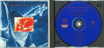 DIRE STRAITS On Every Street 1991 GERMANY CD oop 1press TOP SOUND! Mark Knopfler