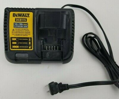 Used Dewalt DCB115 12v-20v. Li-ion battery charger