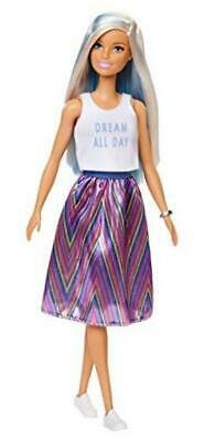 Barbie Fashionistas Doll with Long Blue and Platinum Blonde Hair Wearing