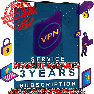 VPN 3 Year REAL ACCOUNT Pro Subscription worth $382 Online Safety norton nordvpn