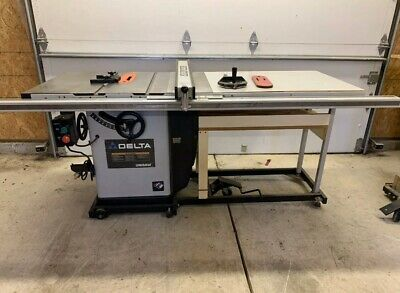 Delta Unisaw 36-829 With Free Accessories And Blades Great Condition Amazing Saw