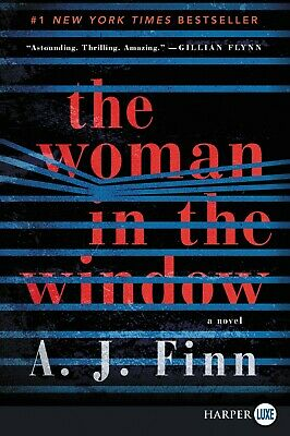 The Woman in the Window: A Novel By A. J Finn ((PDF Version FAST SHIPPING))