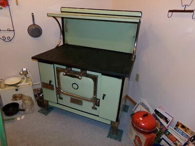 Antique Monarch Malleable Wood Burning Stove Beautiful!