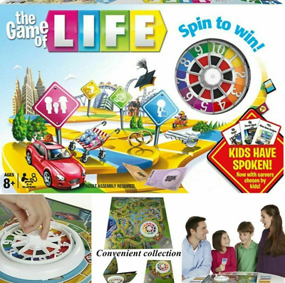 The Game of Life Board Game Children Kids Card Family Party Games Gift 2019 UK O