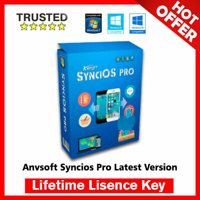 Anvsoft SynciOS Pro 6.6 🔐 Lifetime Activation Key ✅ Fast Delivery
