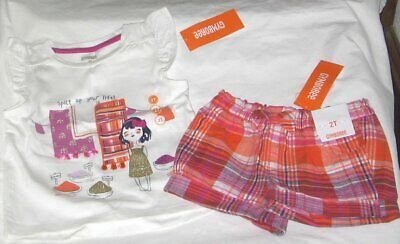 """NEW Girls Peppa Pig outfit /""""Friends Forever/"""" T-shirt and skort *2T*3T*4T*"""
