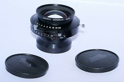 Schneider Apo-Symmar 240mm f/5.6 MC large format view camera lens. MINT-