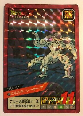 DRAGON BALL SUPER BATTLE / POWER LEVEL - Japan card Prism - N° 23