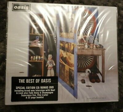 Oasis - Stop the Clocks The Best of Oasis Special Edition CD/DVD (2006) New