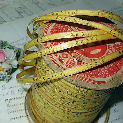1y ANTIQUE CHINESE IMPORT EXPORT RIBBON SAN FRANCISCO TEA SPICE ASIAN ORIENTAL