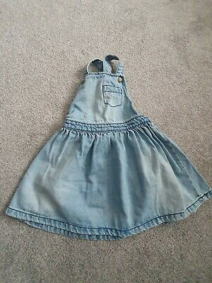 Girls Toddlers Pinafore Skirt Dress Next 2-3yrs