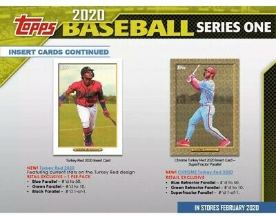 2020 Topps Series 1 Turkey Red Retail Exclusive Complete Your Set-Pick Player