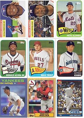 2020 Topps Series 1 Topps Now Inserts! You Pick and Choose! Free Shipping!