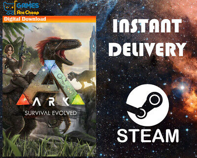 ARK: Survival Evolved Steam PC - Region Free - Not a Key 🔥🔥🔥