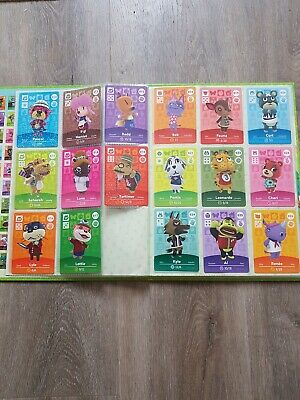 COMPLETE Animal Crossing Amiibo Cards - Series 1 Unscanned, 100+3 cards/Album