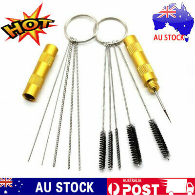 11pcs Airbrush Cleaning Needle & Brush Accessories Kit for Spray Gun Cleaner V3