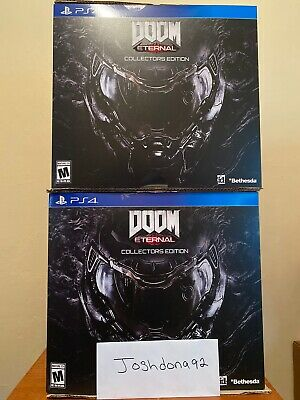 DOOM Eternal Collector's Edition PS4 Playstation 4. Brand New Sealed.