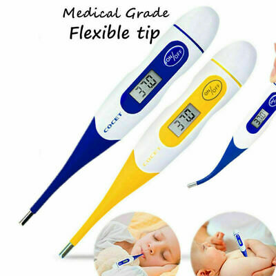 Medical Oral Digital LCD Thermometer Ear Temperature Baby Body Safe Personal UK